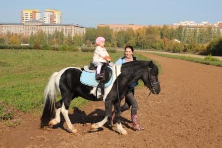 Конный спорт для детей 4-7 лет