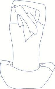 Упражнение 2 для рук на растяжку