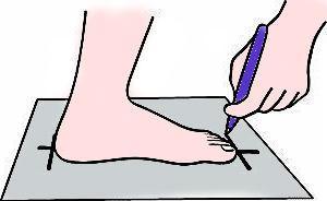 Как подбирать размер обуви правильно?