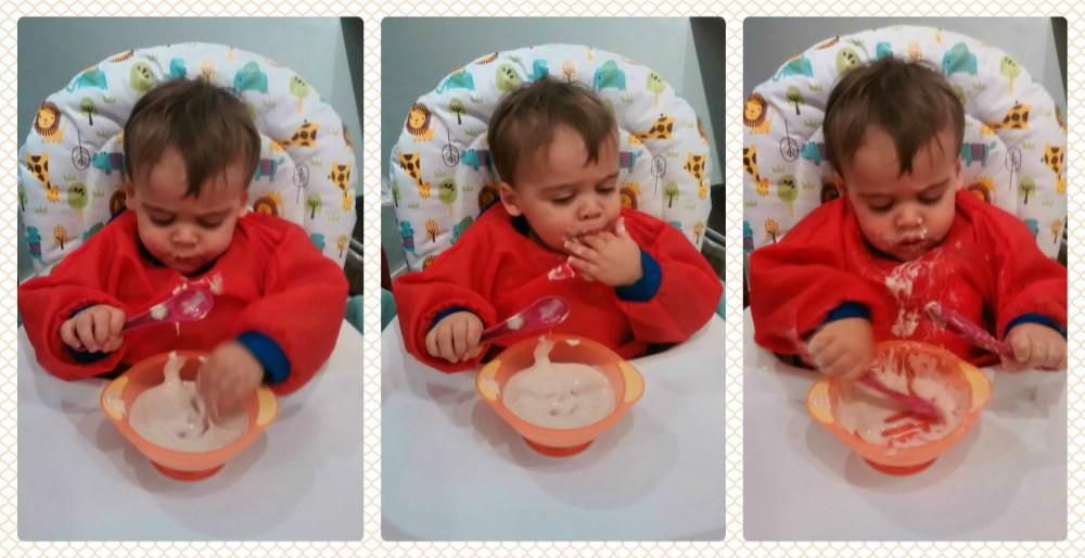 Когда дети начинают есть самостоятельно?