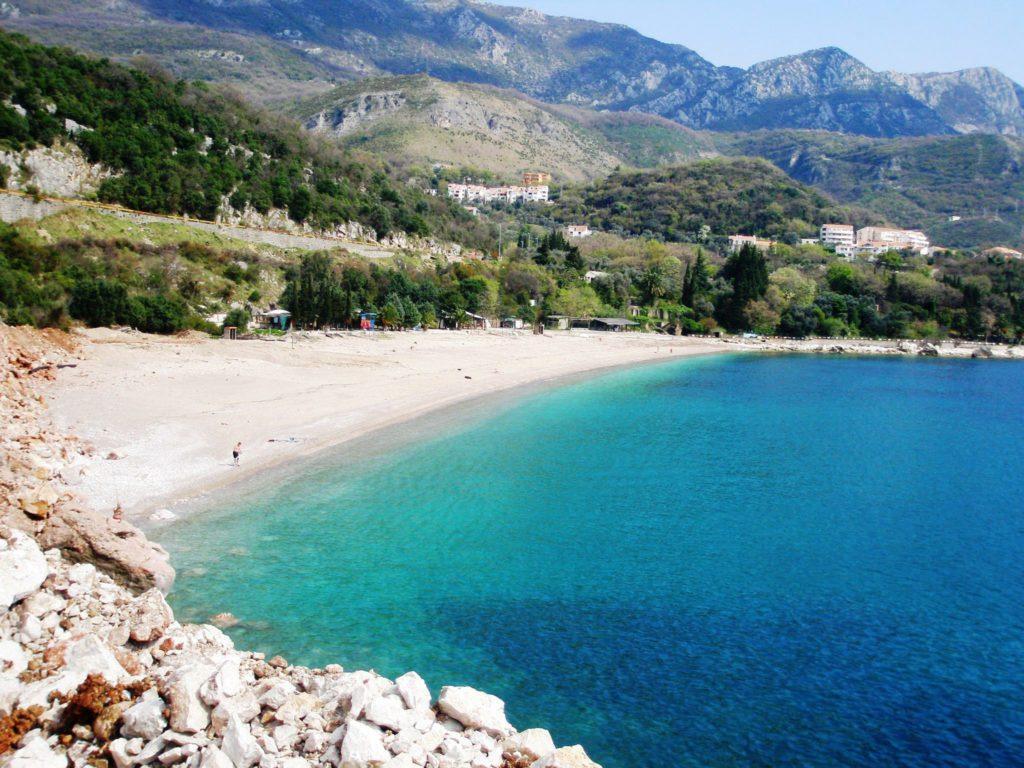 Черногория, пляж Каменово
