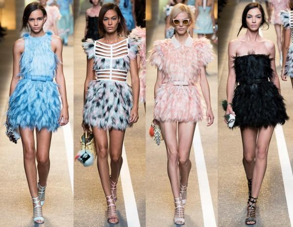 Модные платья на встречу Нового 2017 года Петуха