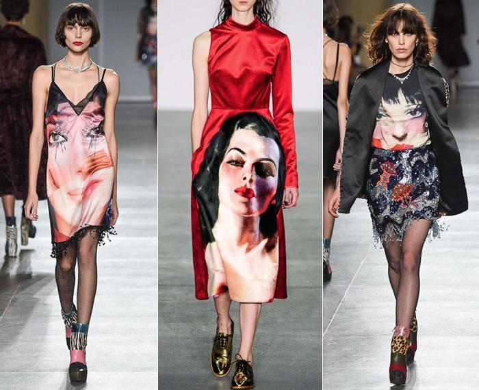 Модные принты на Новый 2017 год Петуха