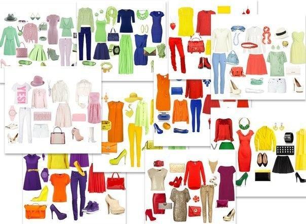 Надо правильно подбирать цвета в одежде