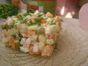 Как приготовить салат Оливье - пошаговый фоторецепт