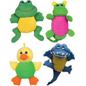 Губки и мочалки для купания малышей