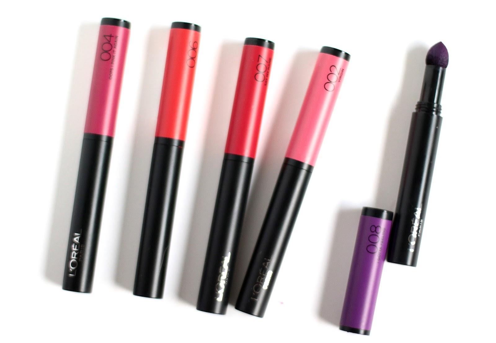 Помада-карандаш L'Oreal Indefectible Matte Lip Pen