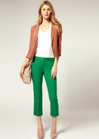 Комплект офисной одежды с брюками