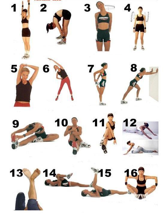 Разминка - лучшие упражнения