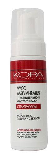 Мусс Кора для чувствительной и сухой кожи