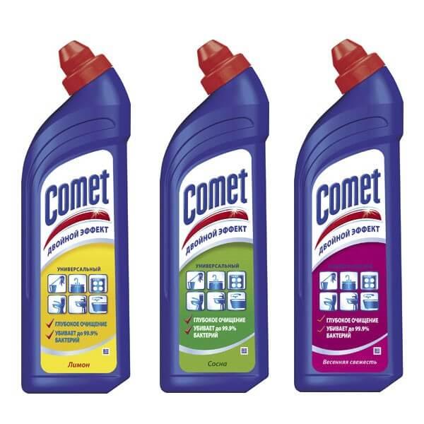 Comet для чистки чугунных эмалированных ванн