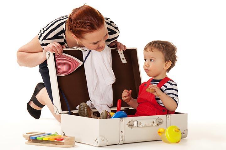 Игры и игрушки для детей 2-5 лет в дороге