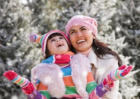 Тематические прогулки с детьми 2-5 лет - изучаем зиму