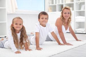 Домашняя гимнастика для ребенка - лучшие упражнения