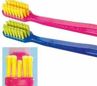 Ортодонтическая щетка для зубов и десен