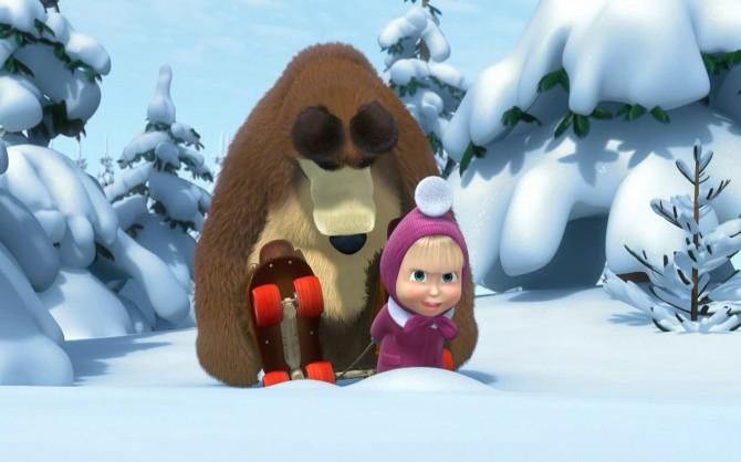 Маша и медведь. Зимние истории