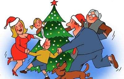 Новый год в семье сценарий