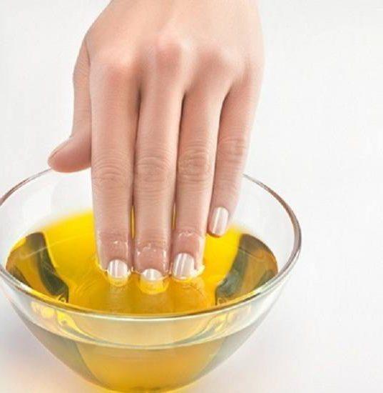 Маски и ванночки для рук и ногтей дома