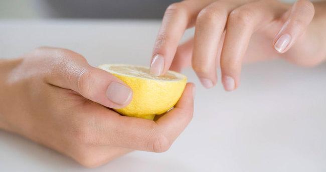 Маски для ногтей и кожи рук с лимоном и оливковым маслом