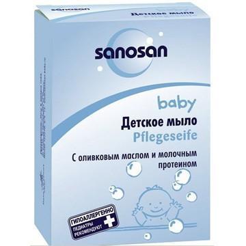 Увлажняющее мыло Sanosan