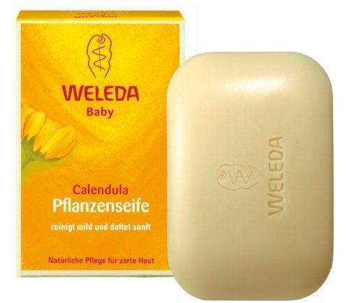 Мыло растительное Weleda с календулой