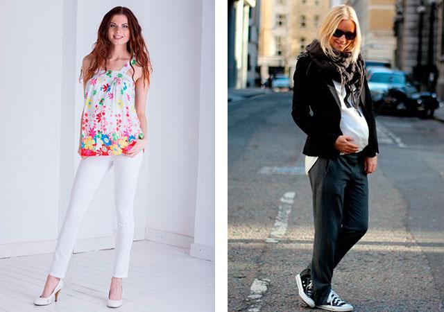 Модные брюки для беременных