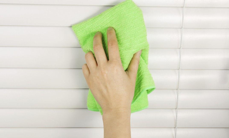 Как помыть жалюзи пластиковые горизонтальные