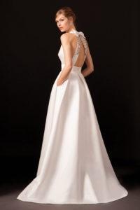 Платье с открытой спиной от Temperley London