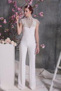 Комбинезон для невесты от Christian Siriano