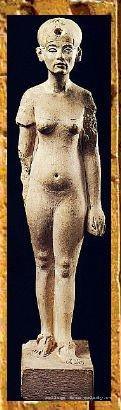 Одна из скульптур Нефертити