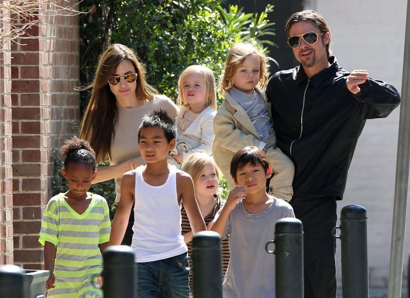 Дети Джоли и Питта