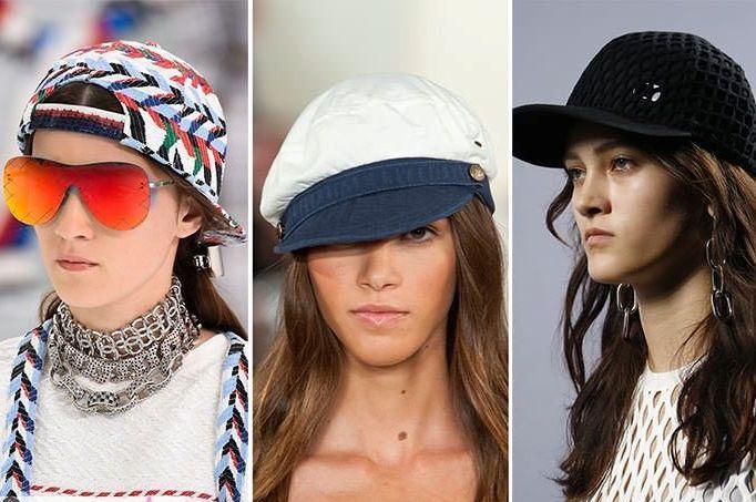 Модные головные уборы лето 2018