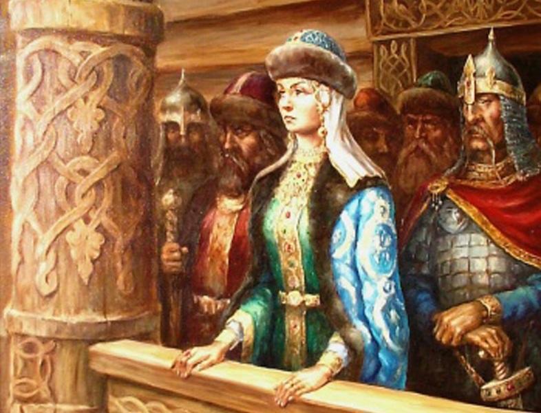 Княгиня Ольга, правительница Руси
