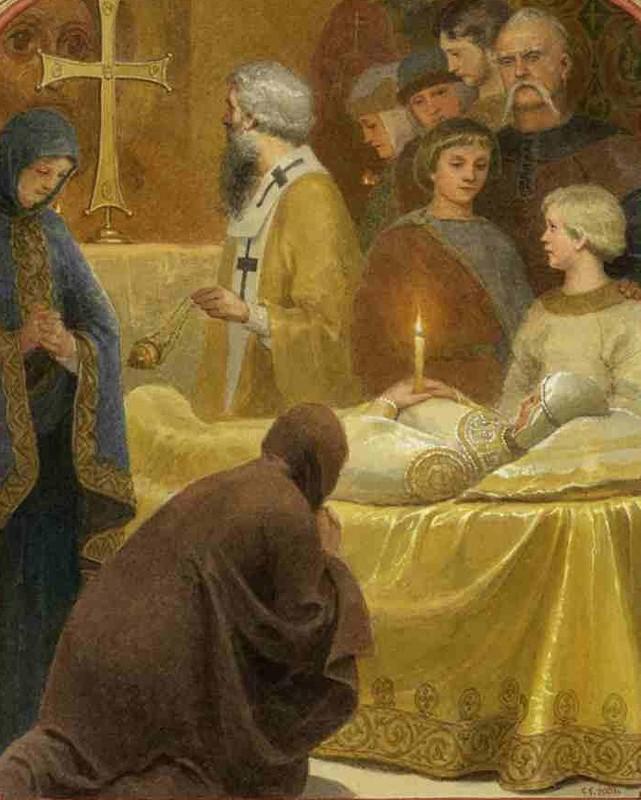 Смерть княгини Ольги