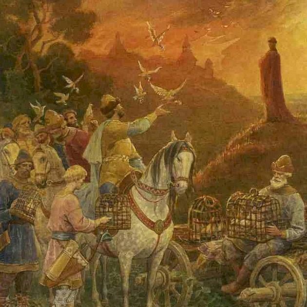 Месть княгини Ольги древлянам
