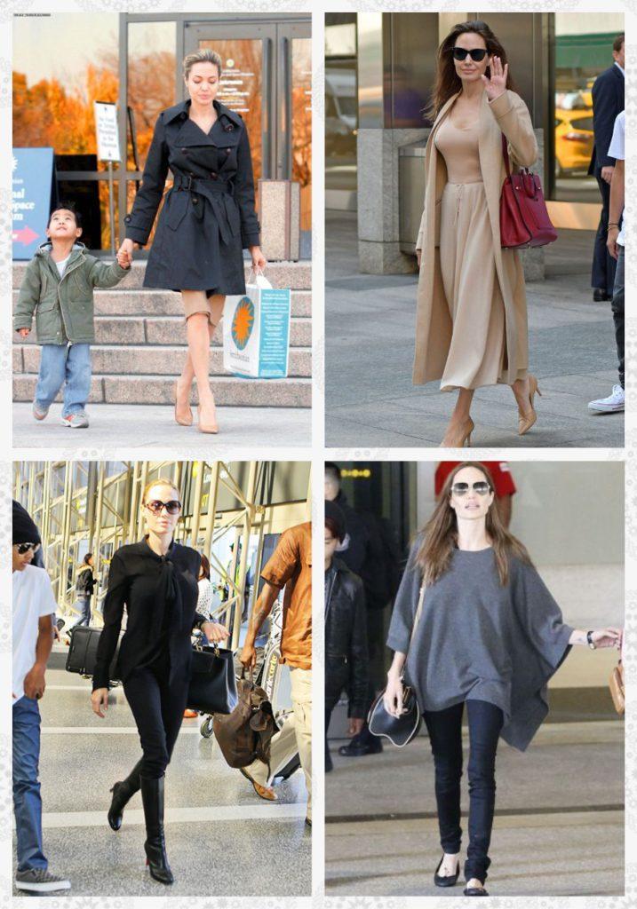 Повседневный стиль Анджелины Джоли