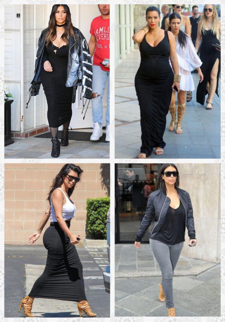 Повседневный стиль Ким Кардашьян