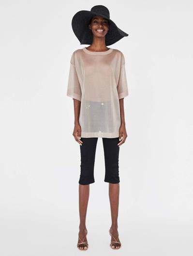 Прозрачный топ из Zara