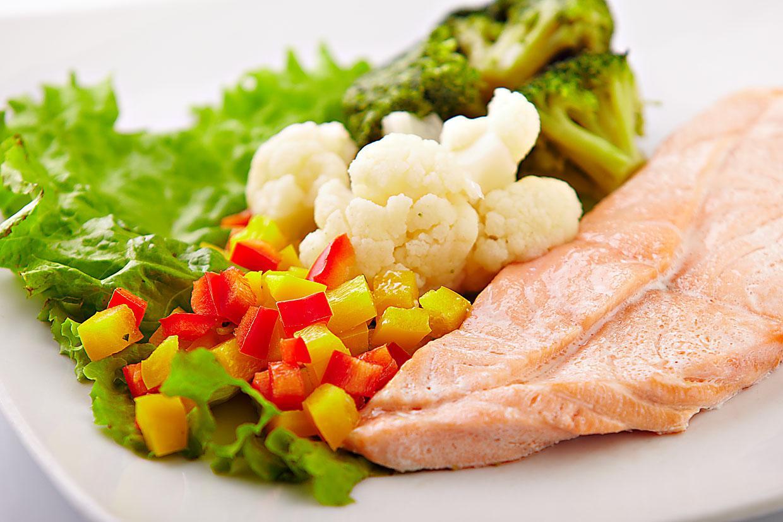 Овощи и мясо на пару