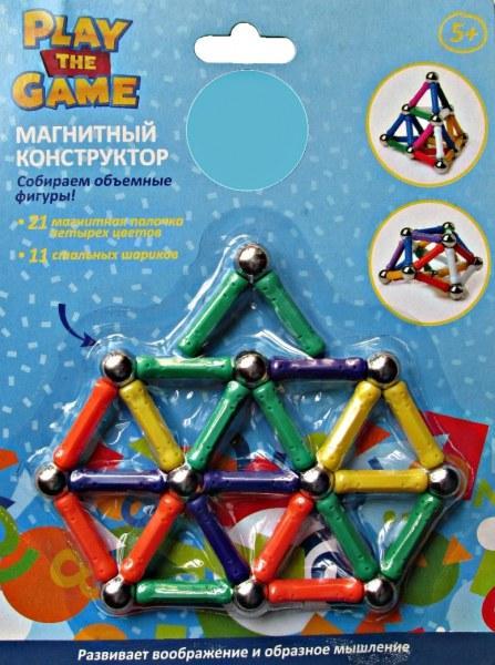Конструкторы магнитные 5+