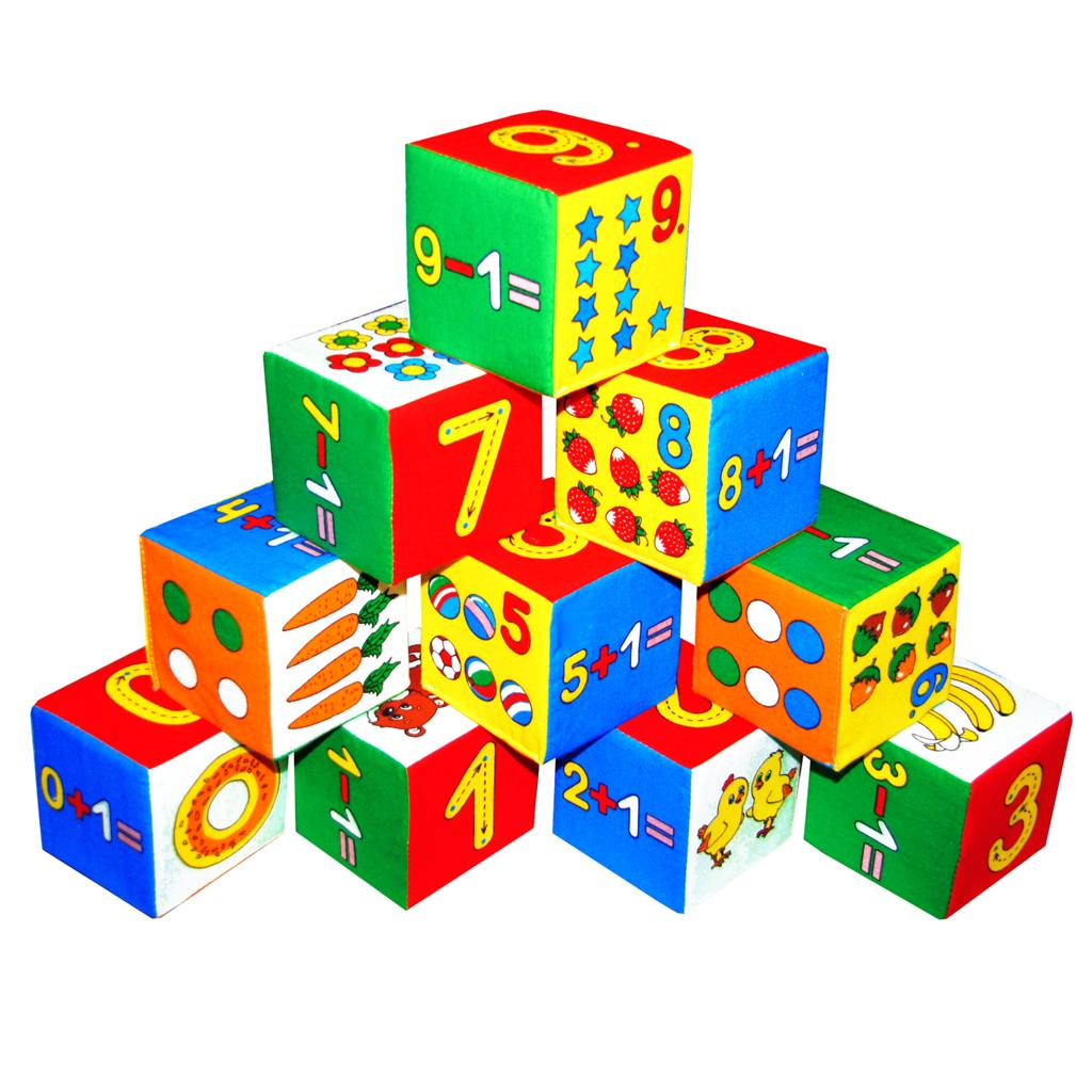 Кубики - простейший конструктор для ребенка 5-7 лет