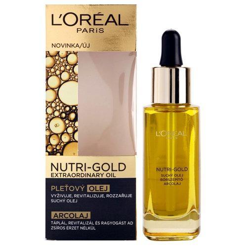 Косметическое масло от морщин L'OREAL: Nutri Gold