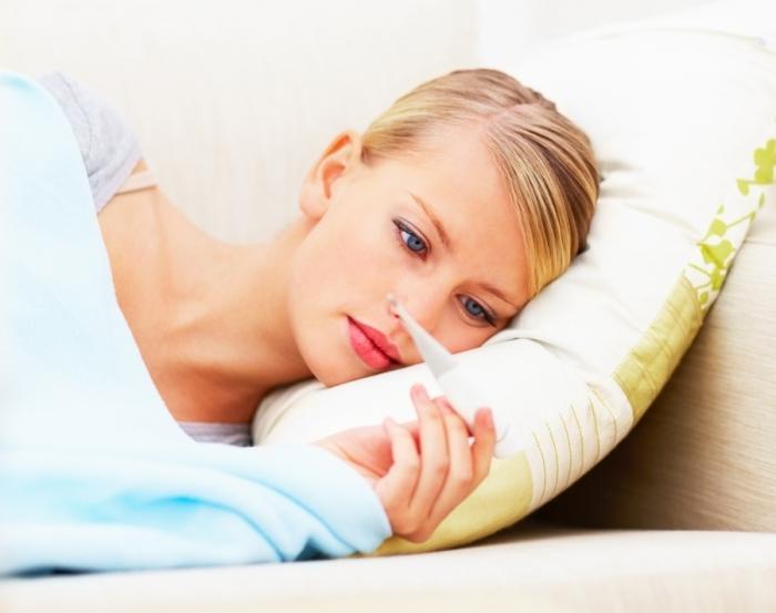 Высокая температура тела у беременной на ранних и поздних сроках