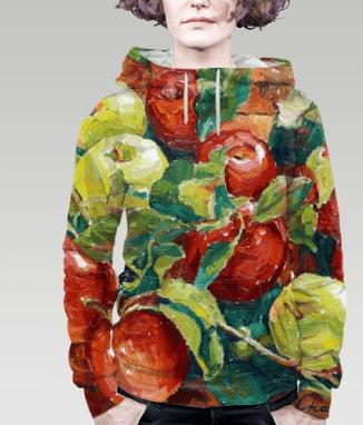 Толстовка с яблоками