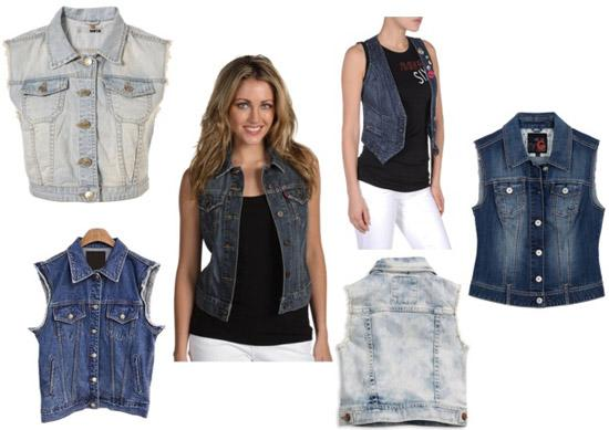 Выбрать джинсовый жилет