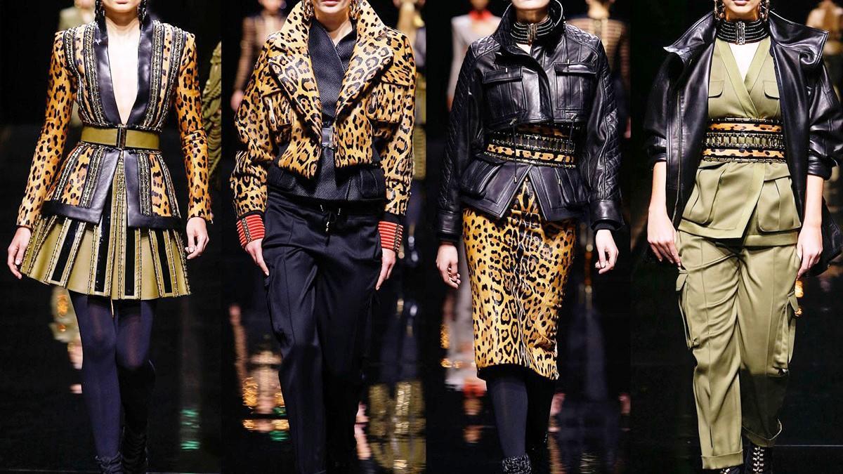 Леопардовые принты в одежде