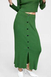 Повседневная длинная юбка ZARA