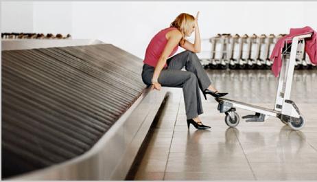 Потеря чемодана в аэропорту при перелете