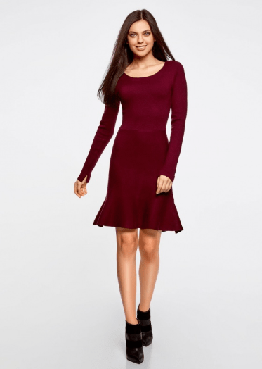 Платье из Oodji