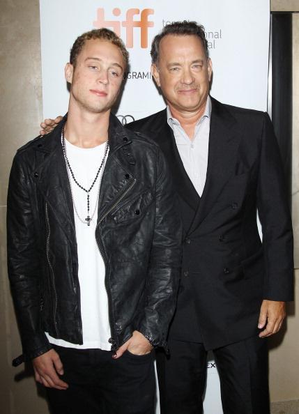Том Хенкс и сын